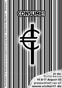 Consume! Flyer