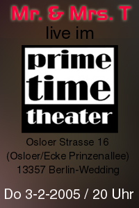 Prime Time Theater Flyer