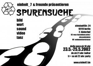 Spurensuche Flyer